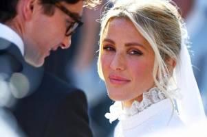 ellie goulding heiratet kunsthändler ganz in weiß