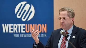 werte-union feiert separat: ex-verfassungsschützer hans-georg maaßen verbucht teil des cdu-erfolgs in sachsen für sich