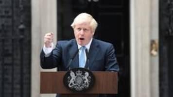 tauziehen um brexit: johnsons druck wird massiv