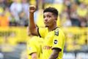 fc bayern kein thema - borussia dortmund: sancho denkt an rückkehr in die premier league
