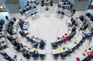 landtag: landtag startet mit der haushaltsberatung für 2020 und 2021