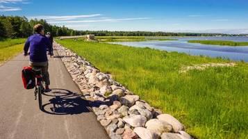 sieben e-bike-routen in europa