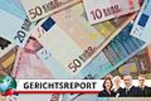 konten vergessen - zahnarzt häuft 400.000 euro schulden an - vor gericht bricht ehefrau in tränen aus