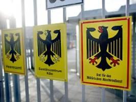 neonazis in der truppe aufspüren: militär-geheimdienst mad rüstet auf