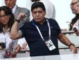diego maradona kehrt als trainer zurück