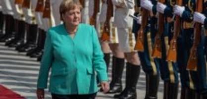 Journalisten ausgeschlossen: Eklat bei Merkels Besuch in China