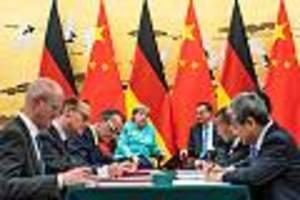 Streit um Zulassungen für Journalisten - Merkels Besuch in China: Gleich am ersten Tag kommt es zum Eklat