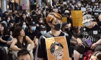 Hongkonger Demonstranten wollen erneut am Flughafen protestieren