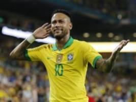 brasilien: neymar spielt wieder fußball