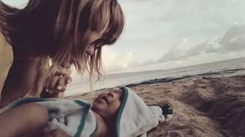 leute von heute: der grund für ihr verschwinden? vermisste ex-frau von adel tawil zeigt sich mit baby