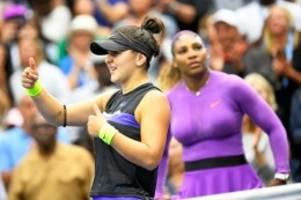 tennis: sieg bei den us open: kronprinzessin de luxe