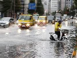 Mehr als 30 Verletzte in Japan: Taifun Faxai fordert erstes Todesopfer