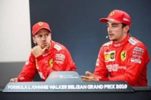 Formel 1: Vettel verzweifelt an Ferraris neuem Liebling