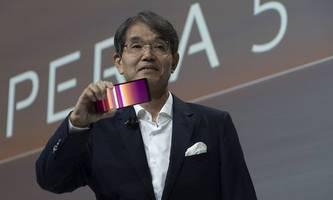 Sony will das Smartphone-Geschäft nicht aufgeben