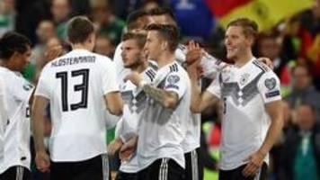 EM-Qualifikation: Deutschland gewinnt gegen Nordirland