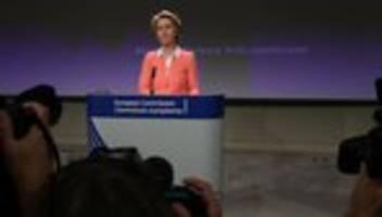 Ursula von der Leyen: Für die EU-Kommission nicht geeignet