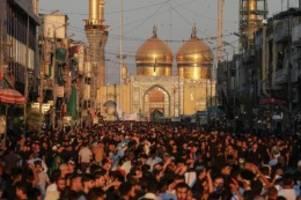 Schiitisches Aschura-Fest: Mindestens 31 Tote und 100 Verletzte bei Massenpanik im Irak