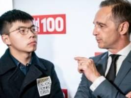 Hongkong-Aktivisten in Berlin: Peking bestellt deutschen Botschafter ein
