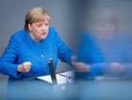 Merkel hält engagiertes Plädoyer für den Klimaschutz
