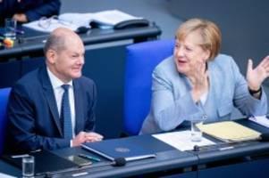 Schlagabtausch: Generaldebatte: Was Merkel heute im Bundestag bevorsteht