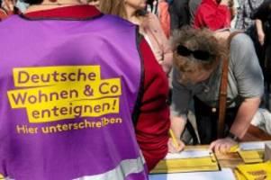 volksbegehren: gutachten der linken: volksbegehren zu enteignungen zulässig