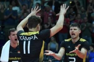 Turnier in vier Ländern: Volleyball-Nationalspieler Kampa will EM-Medaille holen