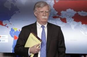US-Sicherheitsberater gefeuert: Freude in Teheran über Trumps Rausschmiss von JohnBolton