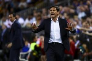 Primera Division: FC Valencia trennt sich von Trainer García
