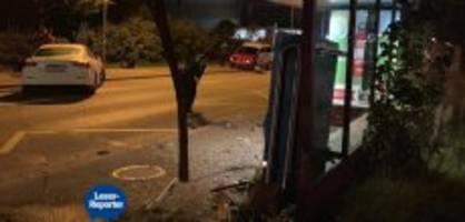 winterthur: 18-jähriger kracht mit maserati in bushaltestelle