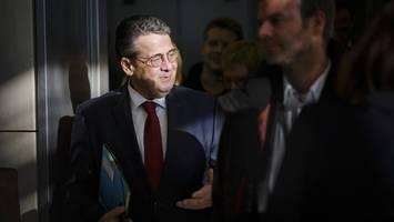 sigmar gabriel: ex-spd-vorsitzender und ex-außenminister feiert geburtstag