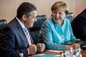 """ex-außenminister wird 60 - '""""tag, chefin"""": gabriel über erstes gespräch mit merkel und größten zoff mit schröder"""