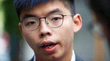 Livestream: Hongkong-Aktivist Wong in Bundespressekonferenz