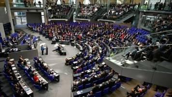 Bundestag setzt Haushaltsdebatte mit Beratung von Einzel-Etats fort
