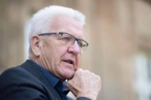 Baden-Württemberg: Pressekonferenz in Stuttgart - Tritt Kretschmann wieder an?