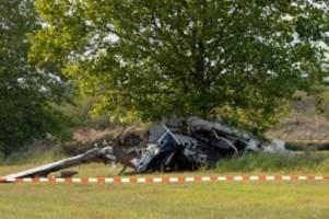 Unfälle: Flugunfalluntersuchung ermittelt nach Flugzeugabsturz