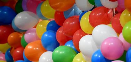 Grüne wollen Luftballons verbieten