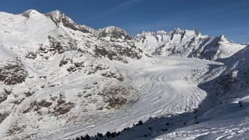 globale erwärmung: forscher fürchten dramatischen schwund am aletschgletscher