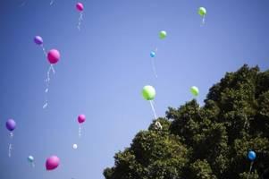 Grüne in Niedersachsen wollen Luftballons verbieten