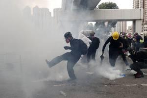 heftige spannungen mit china wegen hongkong-aktivist wong