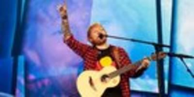 Sheeran im Anflug auf Kärnten