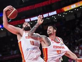 basketball-altmeister überragen: spanien und argentinien spielen um wm-gold