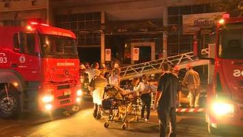 Video: Krankenhausbrand in Rio