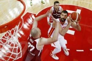 basketball: argentinien und spanien im wm-finale