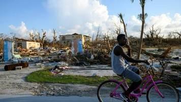 Tropensturm-Warnung für Katastrophengebiet im Norden der Bahamas