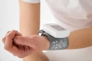 Regelmäßig messen: Bluthochdruck bleibt oft unerkannt
