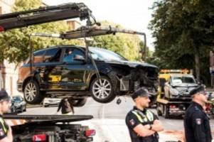 Unfälle: Mehrere Verletzte nach Verfolgungsjagd in Hamburg-Horn