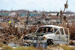 """Newsblog: Nach Hurrikan """"Dorian"""" – Bahamas befürchten nächsten Sturm"""