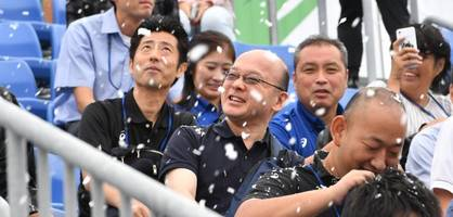 tokio testet kunstschnee - für die sommerspiele