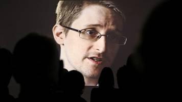 Whistleblower im Exil: Edward Snowden wirbt um Asyl in Deutschland