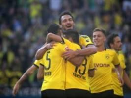 Bundesliga: Dortmund rennt Leverkusen davon